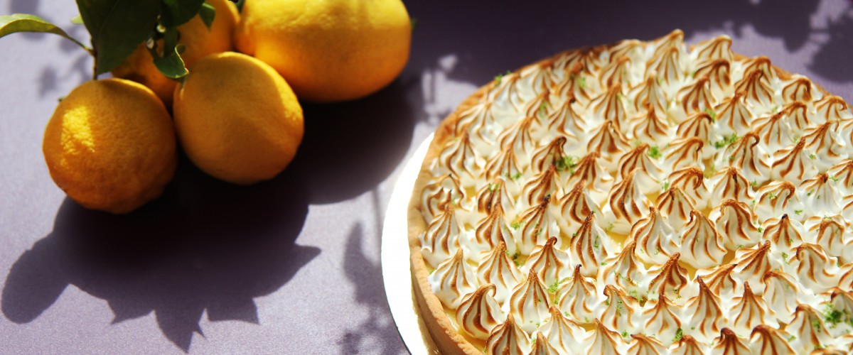 Tarte au citron meringuée Sam Cook Traiteur